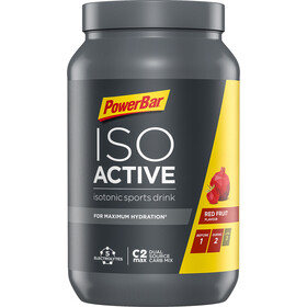PowerBar Isoactive Isotonic Bote Bebida Deportiva 1320g, Red Fruit Punch